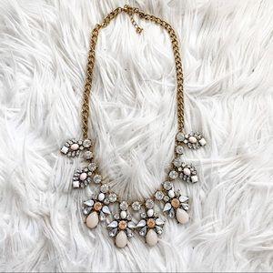 Francesca's Stone & Crystal Statement Necklace